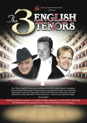 3 English Tenors