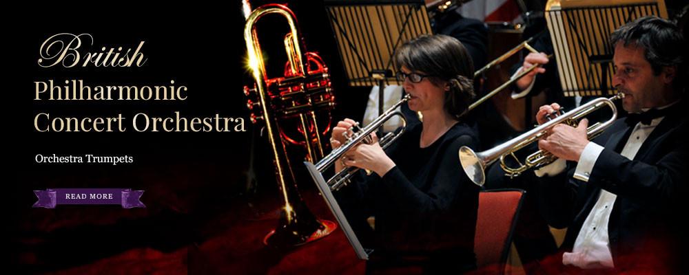 British Philharmonic Concert Orchestra Trumpets